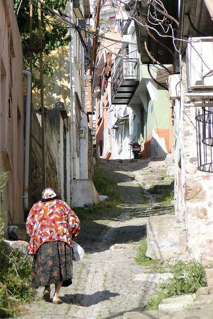 Old Town Of Ayvalik, Turkey