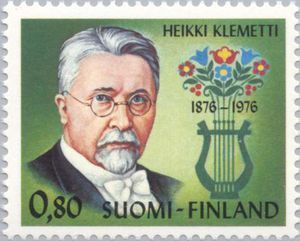 ◇Finland  1976    Klemetti, Heikki Valentin (1876-1953) Composer and Author