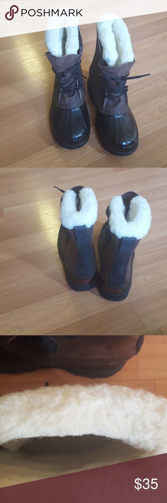 BIGHORN SOREL BOOTS MEN SIZE 10 BIGHORN SOREL WINTET  PRE LOVED BIGHORN SOREL Shoes Rain & Snow Boots