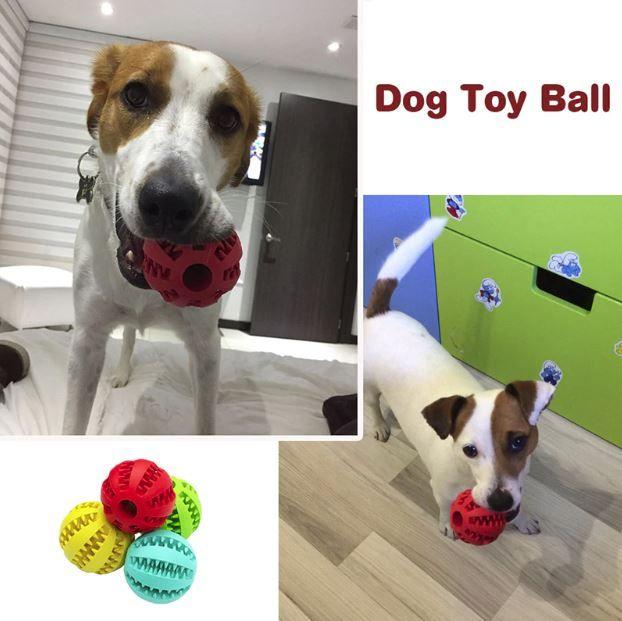 Elasticity Dog Ball Thoot Cleaner Dogtoy Dogyotboxdiy Dogtoydiy