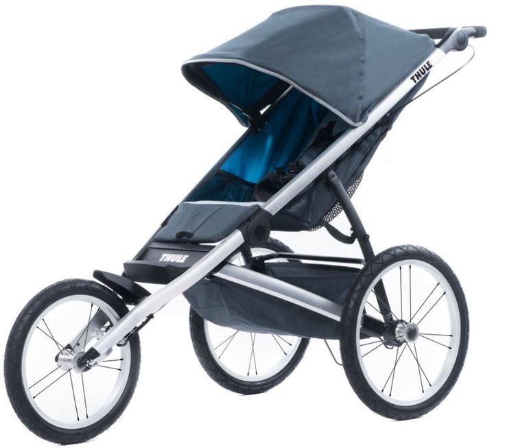 Für Sportbegeisterte der perfekte Kinderwagen zum Joggen. Der Thule Glide Jogging Kinderwagen