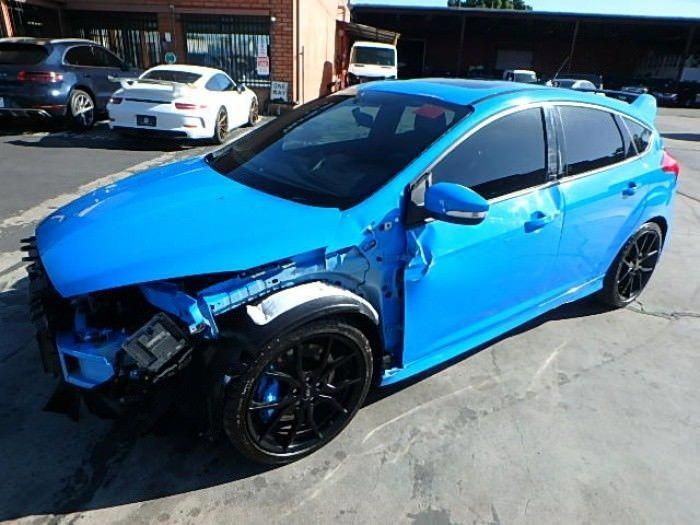 Ebay 2017 Ford Focus Rs Hatch 2017 Ford Focus Rs Repairable