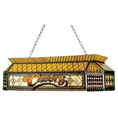 Meyda Tiffany Victorian 9 Light Pool Table Light