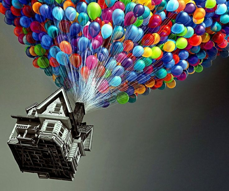 Colourful balloons!