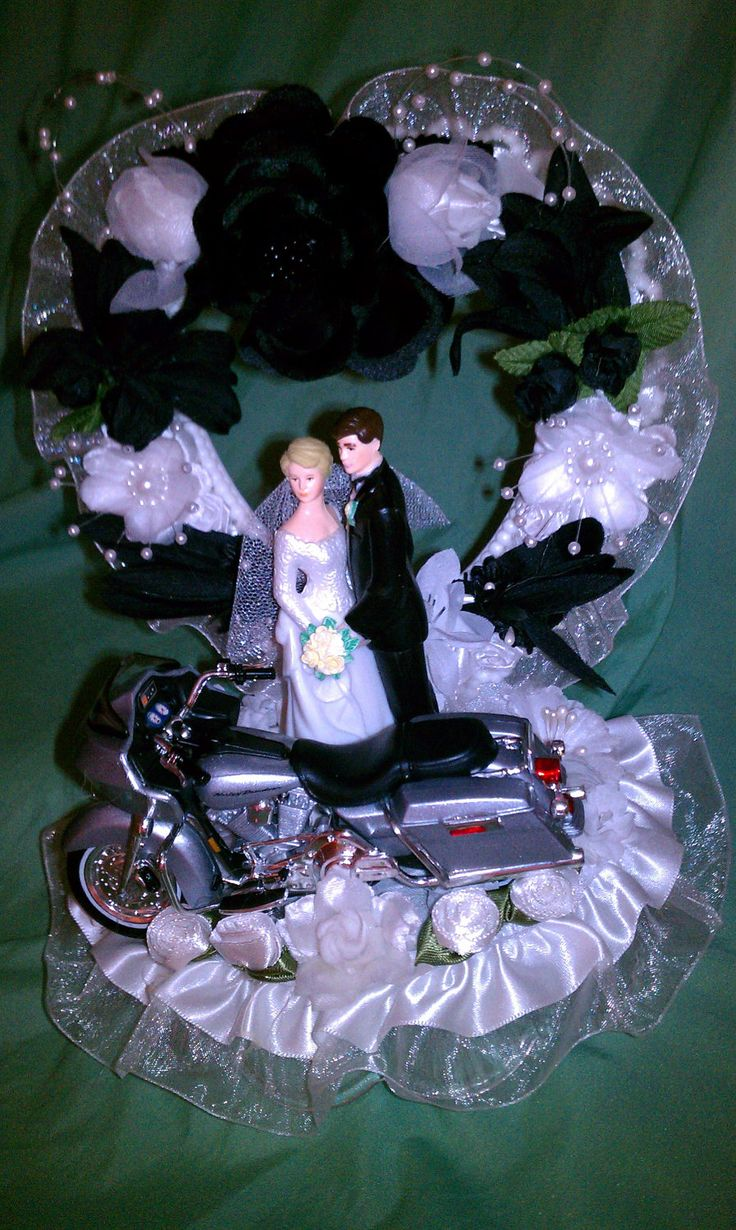 motorcycle wedding cake topper 17 best images about wedding cakes toppers on 17614