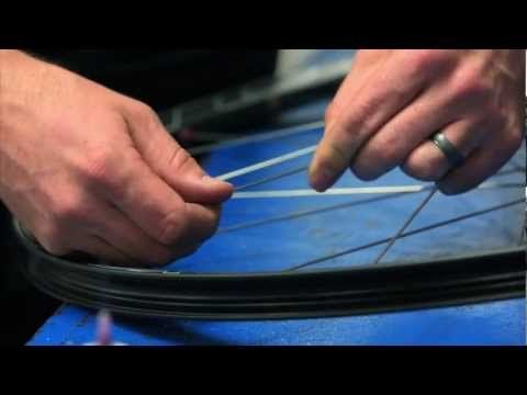 Easton Cycling: How to install a spoke in an Easton tubeless wheel - YouTube