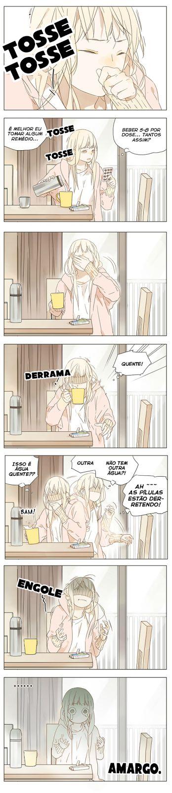 Armazém Yuri - Galeria de mangás: Tamen de Gushi - Capítulo 05