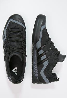 adidas Performance TERREX SWIFT SOLO - Scarpe da trekking - black/lead - Zalando.it