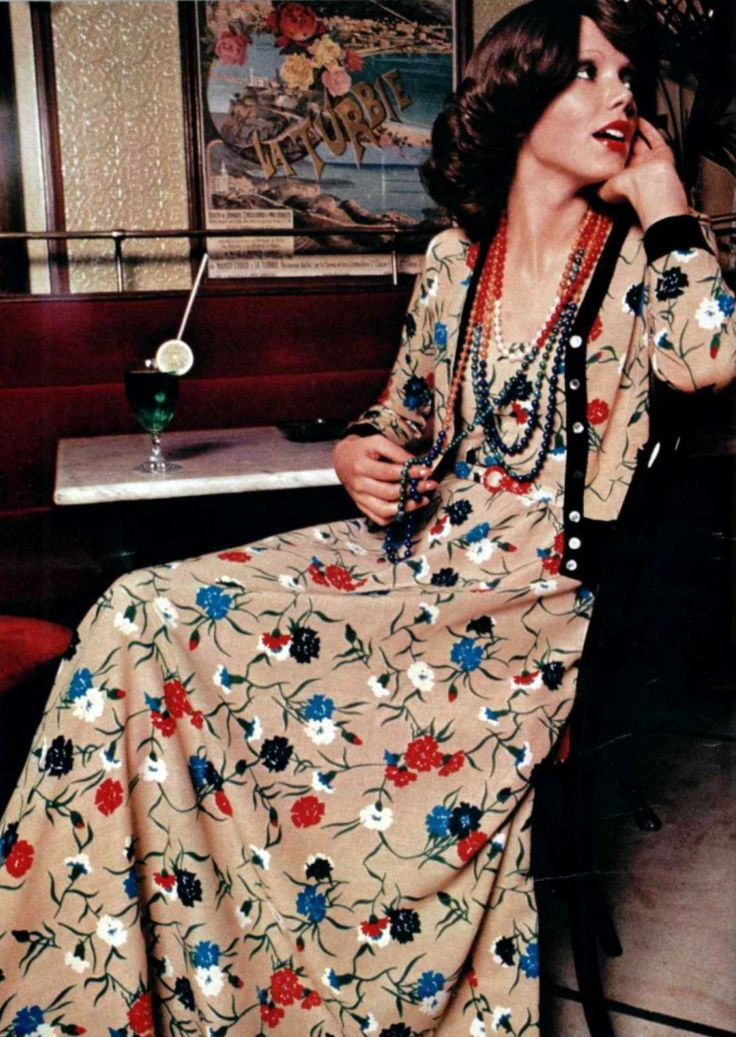 Lanvin Boutique, L'Officiel magazine 1974