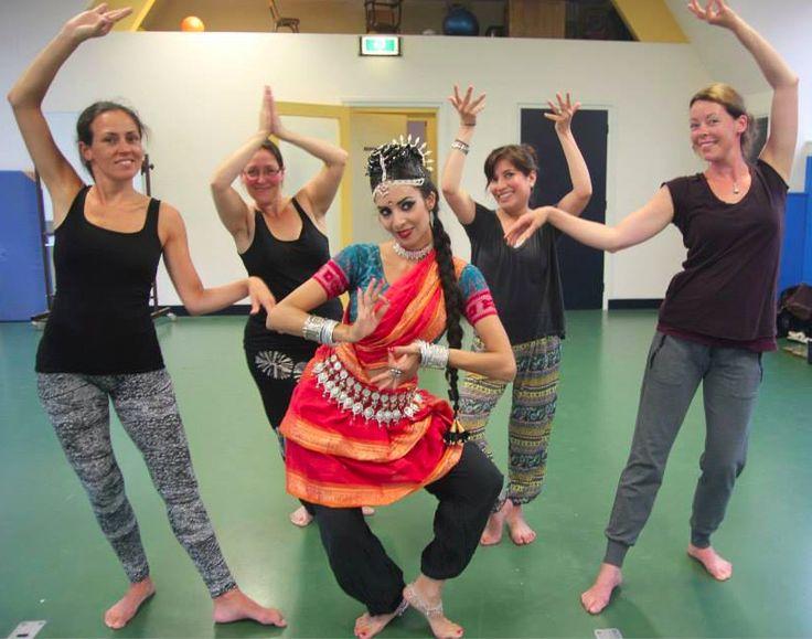 Odissi & Bollywood Workshop in Haarlam, Netherlands, Summer 2014