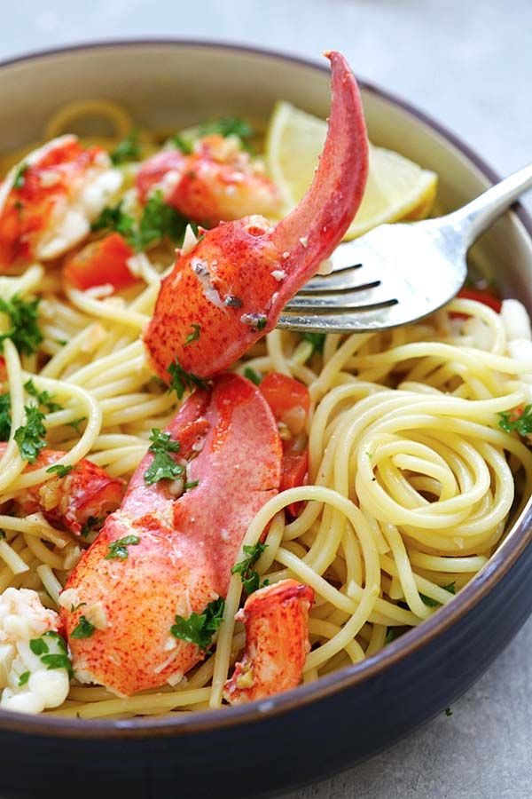 Best 25 lobster pasta ideas on pinterest pasta recipes for How to make lobster pasta