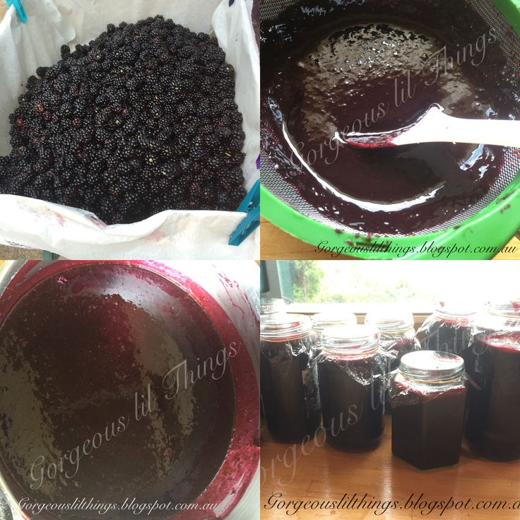 Easy homemade seedless blackberry jam #jam #seedless #easy #blackberry