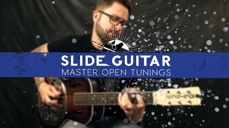 Slide Guitar - Step 1: Building A Blues Scale In Open D Tuning