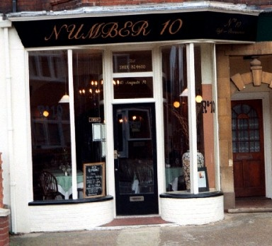 Number 10 is a family run restaurant in Sheringham, North Norfolk