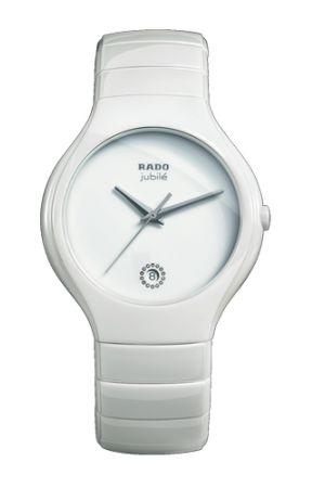 Часы Rado Jubile на керамическом ремешке (белые)