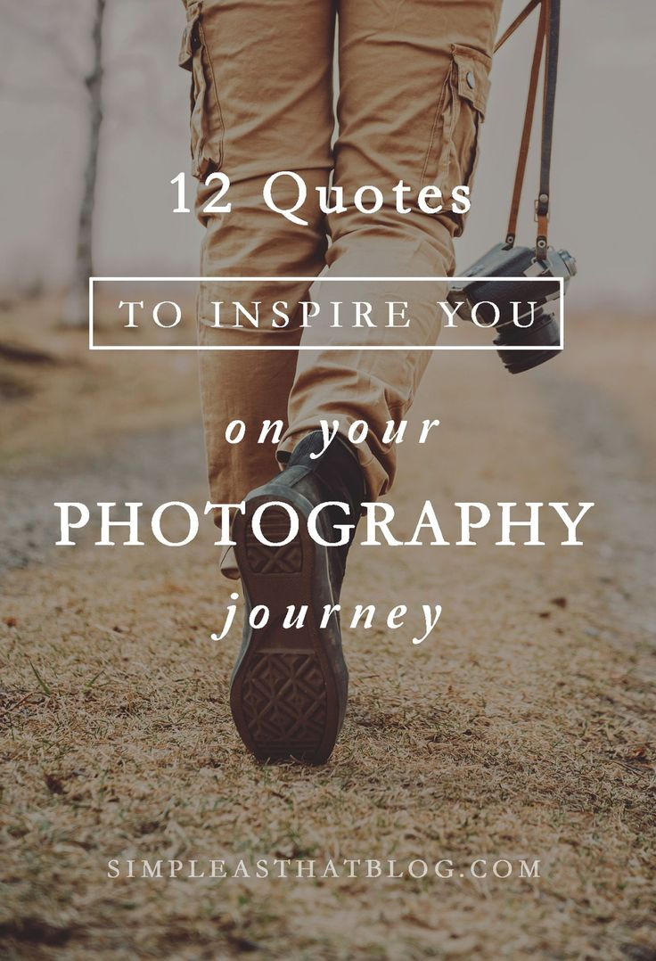 Whether your a seasoned photographer or someone capturing life's moments on your phone camera, these quotes will to inspire you to capture the little moments and see life with new eyes.
