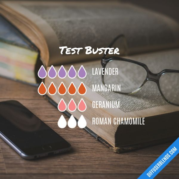 Test Buster - Essential Oil Diffuser Blend