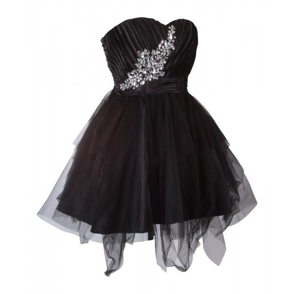 Special Strapless #Cocktail #Dress This short, #cocktail #dress is perfect for all kinds of events, including #proms and #parties. #MyEveningDress2
