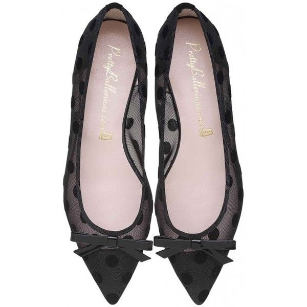 Ella black chic and sexy pointed ballerinas. ($235) ❤ liked on Polyvore featuring shoes, flats, bow flats, pointed toe flats, pointy-toe flats, ballet flats and black pointy flats