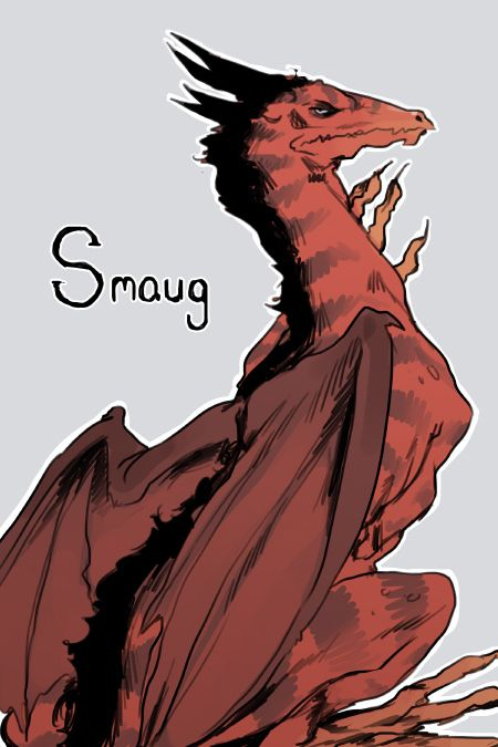 Voice of the dragon Smaug from The Hobbit