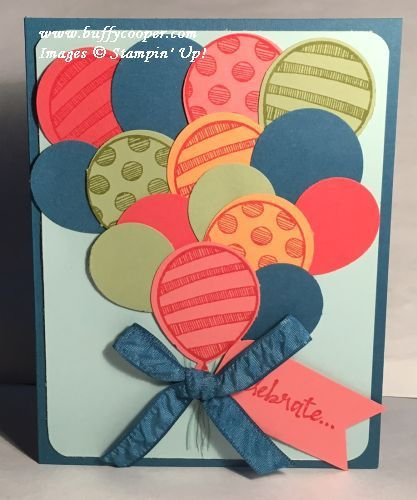 Punch a Bunch Stamp-Off Challenge - Stamping in Winchester, VA, with Buffy Cooper
