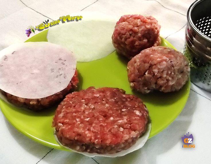 Hamburger fatti in casa -ricetta economica