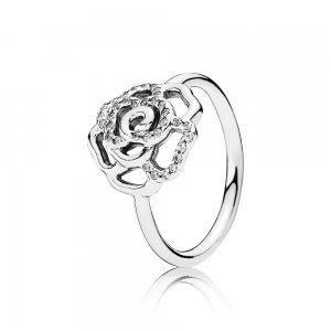 Shimmering Delicate Rose Ring, Clear CZ - Pandora PL  Promocja: 145.98zł  kup teraz: http://www.pandorabiżuteria.com/pandora-rose-uk.html