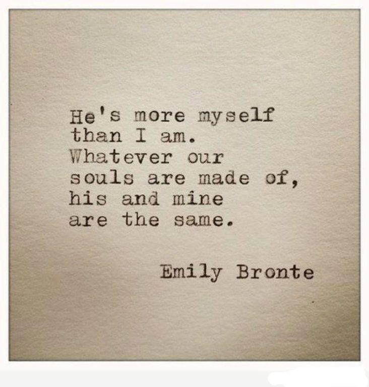 Emily Bronte: Cathy & Heathcliffe