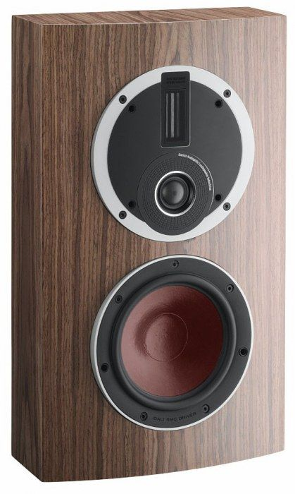 A better alternative to TV speakers, The Dali Rubicon LCR speaker delivers amazing sound quality that TV speakers just can't match. Walnut.