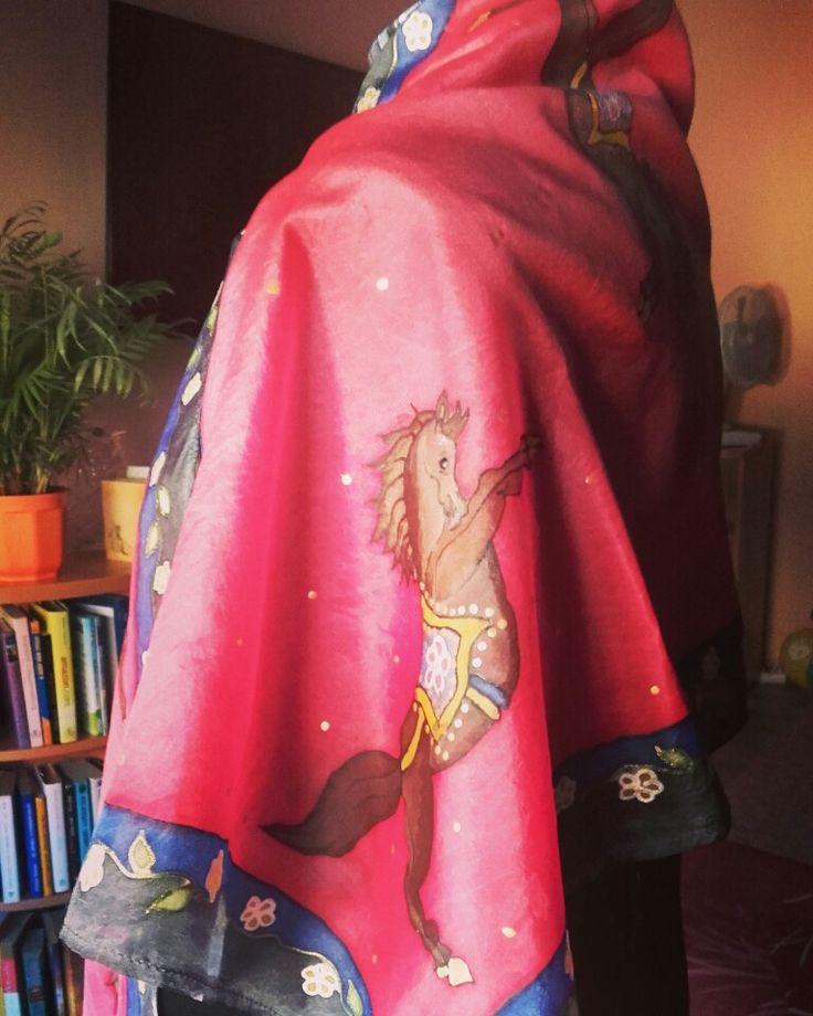 #Selyemsal,#christinaherner #silkdesign