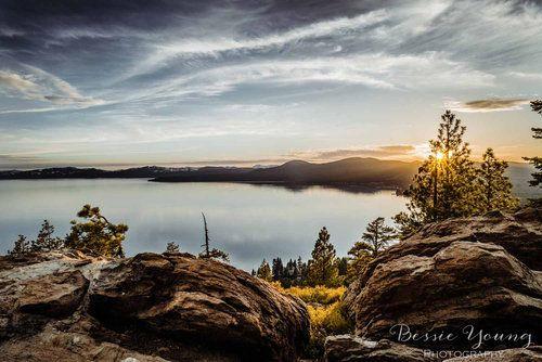 Lake Tahoe Sunset Incline Village Landscape Photography With Images Lake Photography Beautiful Photography Nature Lake Sunset