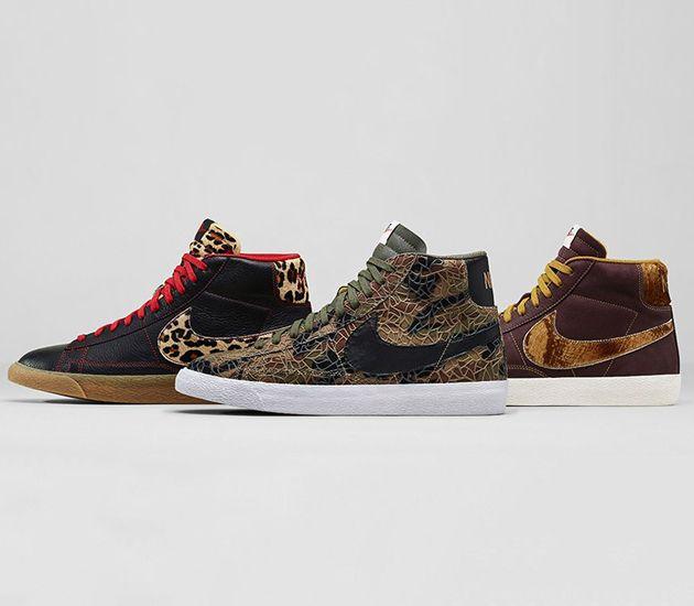 Nike Blazer Mid Premium Meubles De Collection Safari Cru