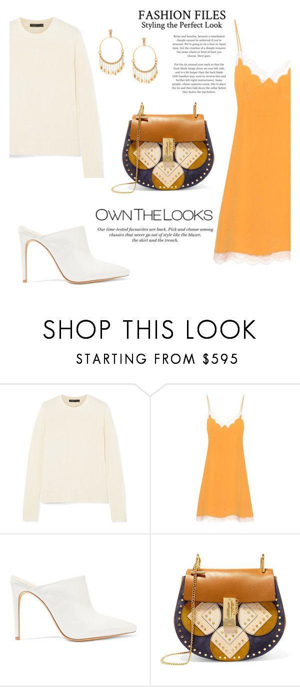 """Outfit #78: Chloe x Alexandre Birman x The Row"" by mariluz-garcia ❤ liked on Polyvore featuring The Row, Chloé, Alexandre Birman and H&M"