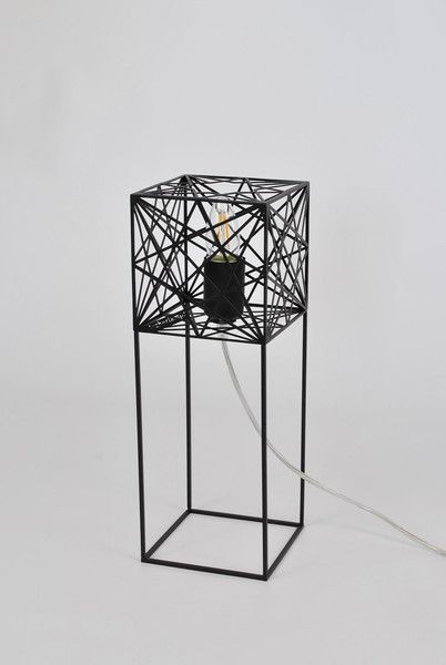 Table Lamps – Modern table lamp Mini MYSTIC ROSE – a unique product by Archerlamps on DaWanda