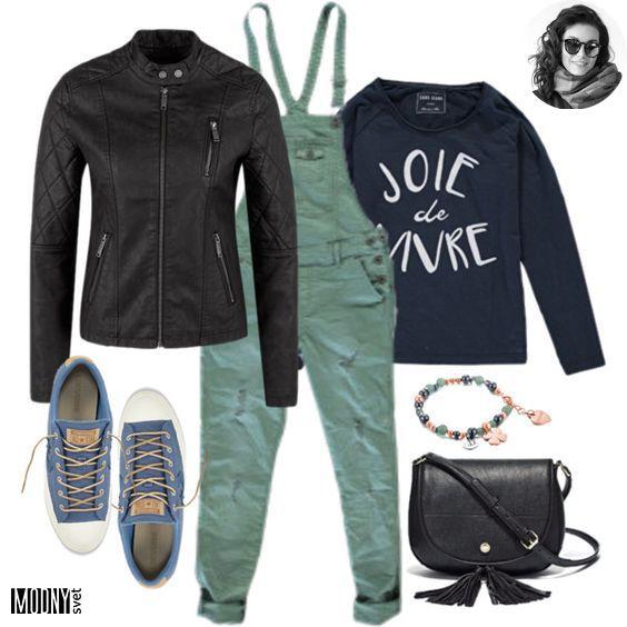 Zelené džínsy na traky – MODNYSVET