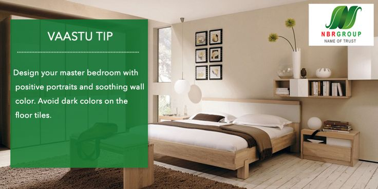 Design Your Master Bedroom As Per Vaastu With Positive Portraits And Soothing Wall Color Avoid