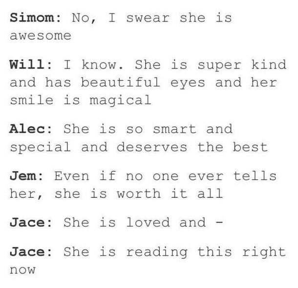 Simon Will Jace Jem Alec | For all the Shadowhunters who want to hear this :) | #TMI