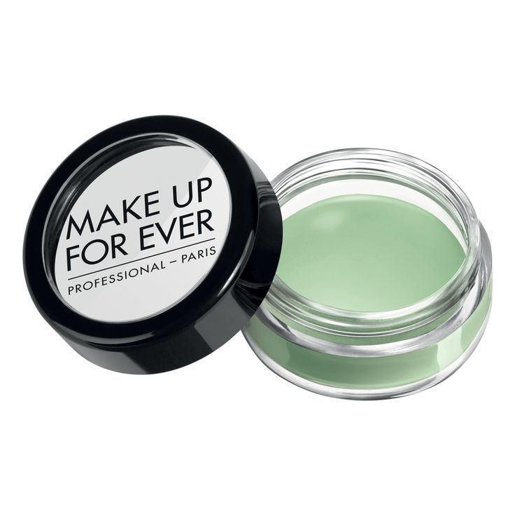 Use before foundation to get rid of redness! Make Up Forever Camouflage Cream Pot in Green