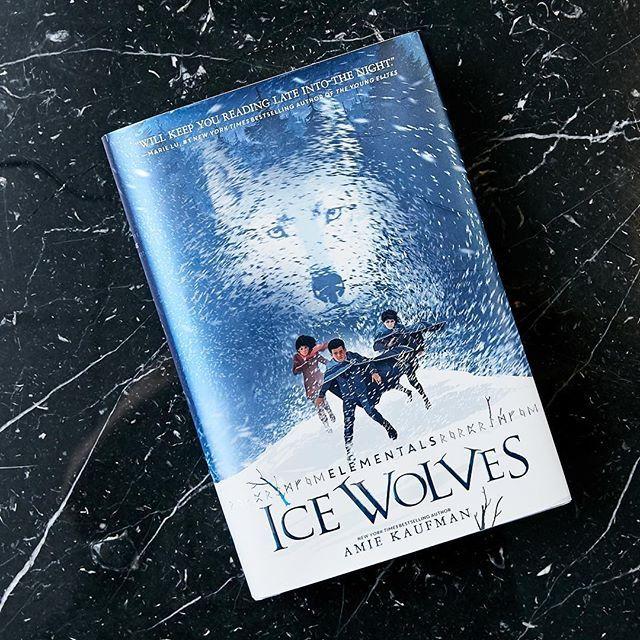 Elementals Ice Wolves Amie Kaufman Hardcover Animal Books
