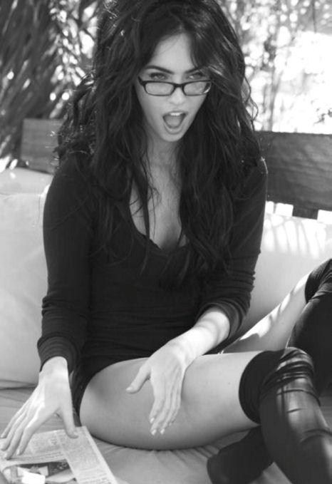 "Megan Fox. Normally she's ""meh"", but got it here, that's for sure..."