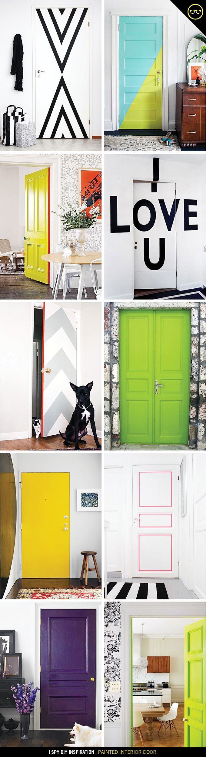 Bedroom Door Painting Ideas