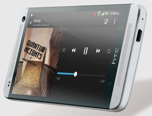 HTC BoomSound™: Sharper, richer, louder.
