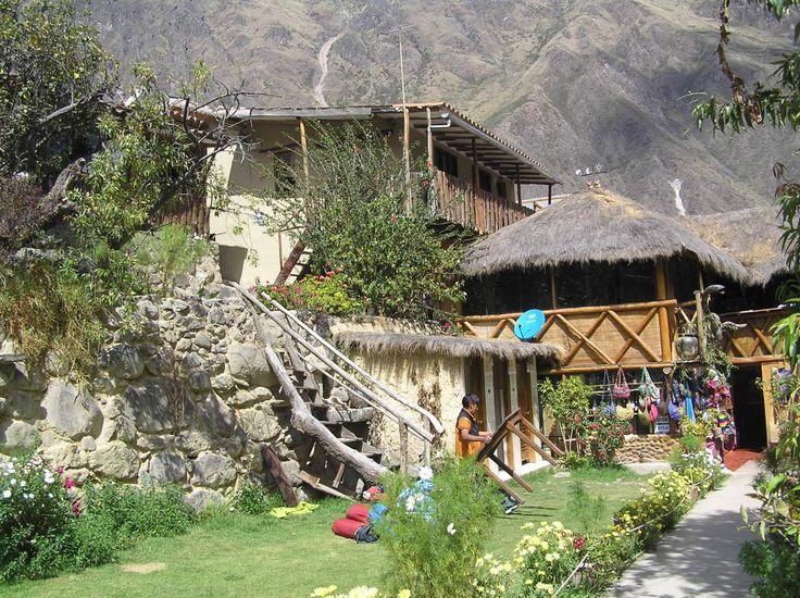Hotel, hostel, Ollantaytambo, Cusco, Andes, Peru