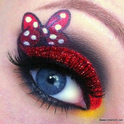 Disney-Inspired Makeup of Mickey and Friends