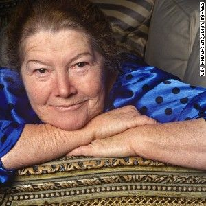 1/30/15  Australian writer Colleen McCullough during portrait session held on april 20, 1997 in hotel room in Paris, France. (Photo by Ulf Andersen/Getty Images)