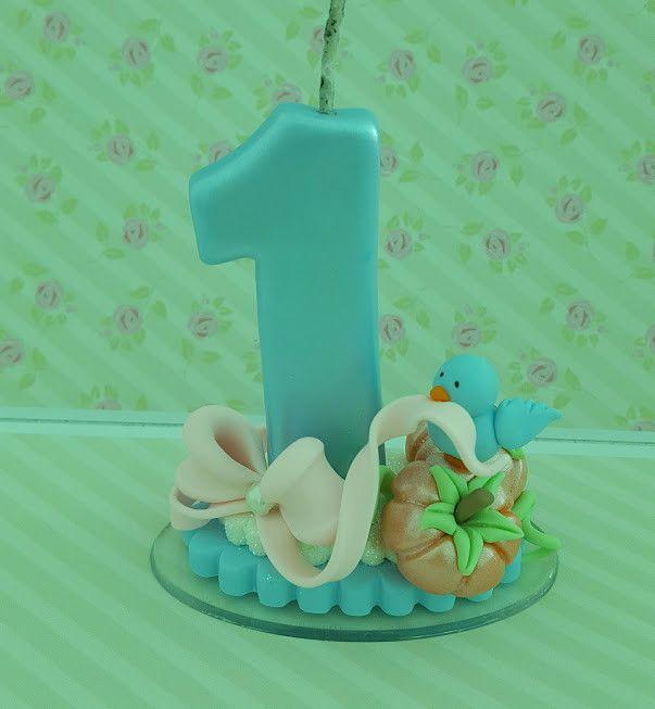 Velinha decorada em biscuit Serie Princesas Altura aprox 10 cm ** valor unitario