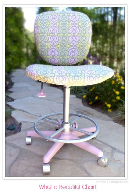 Office Chair Makeover Tutorial - U Create