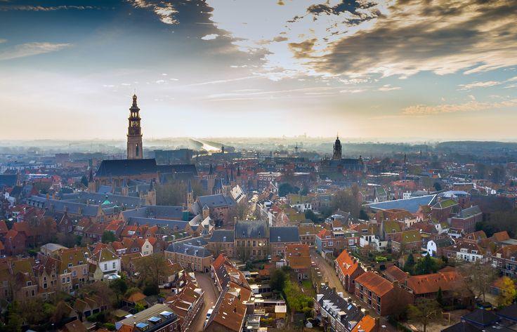 Middelburg met drone