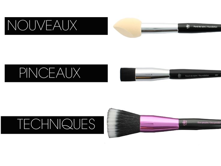 Pinceaux idéals pour réaliser un maquillage complet du teint #foundation #makeup #contouring #contouringbruch #pinceaux #maquillage  http://elite-accessories.com/category/news/