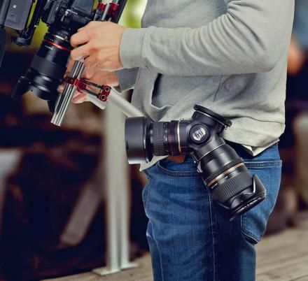Trilens Is a Camera Lens Holster That Lets You Quickly Access Up To 3 Lens